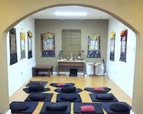 Sala de Meditacion de Casa Tibet